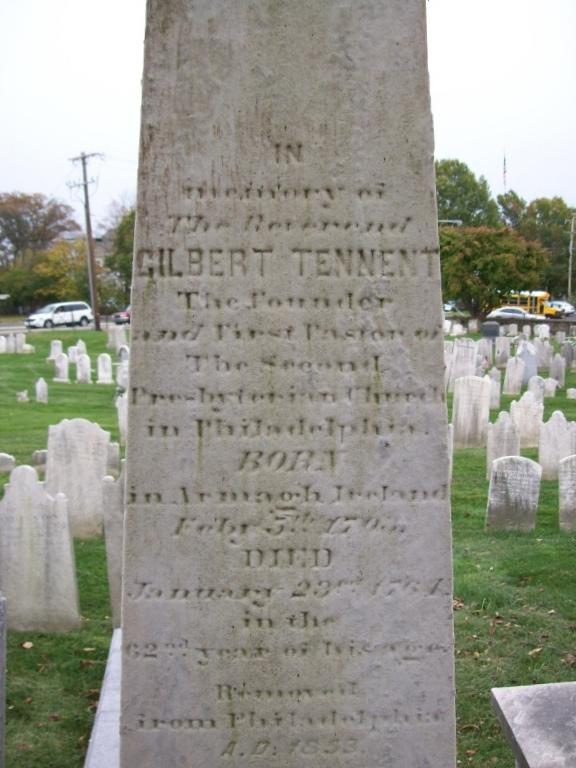 Tennent, Gilbert gravestone photo.jpg