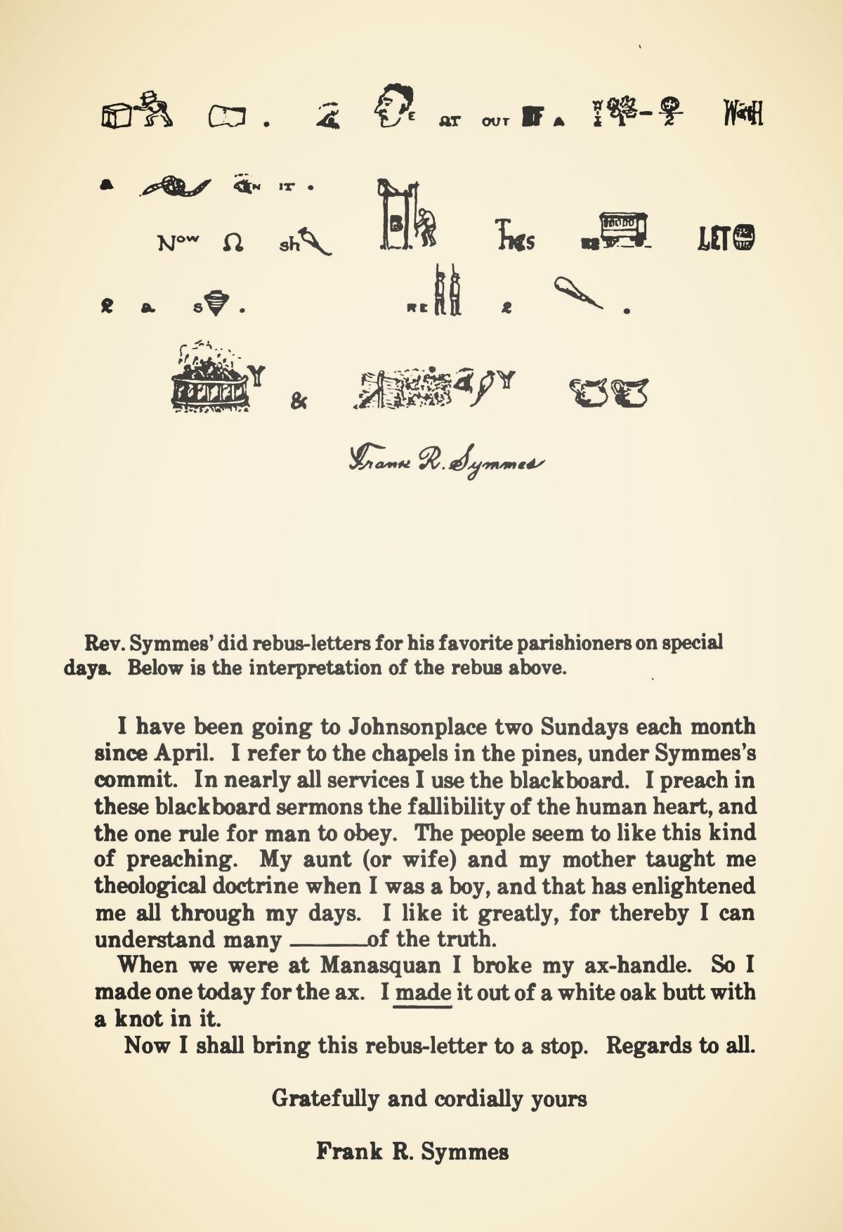 Symmes, Frank Rosebrook, Rebus Letter 2.jpg
