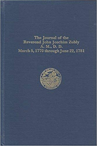 Hawes, Journal of Zubly.jpg