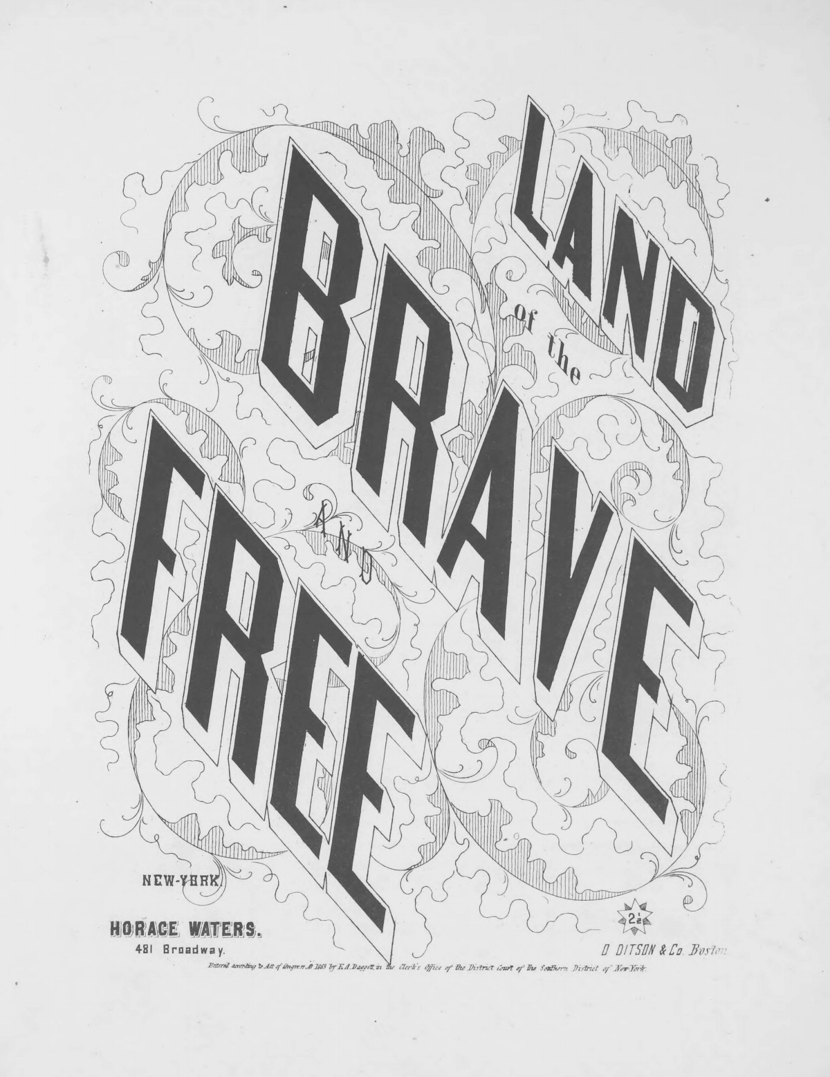 Plumley, Gardiner Spring, Land of the Brave and Free Title Page.jpg