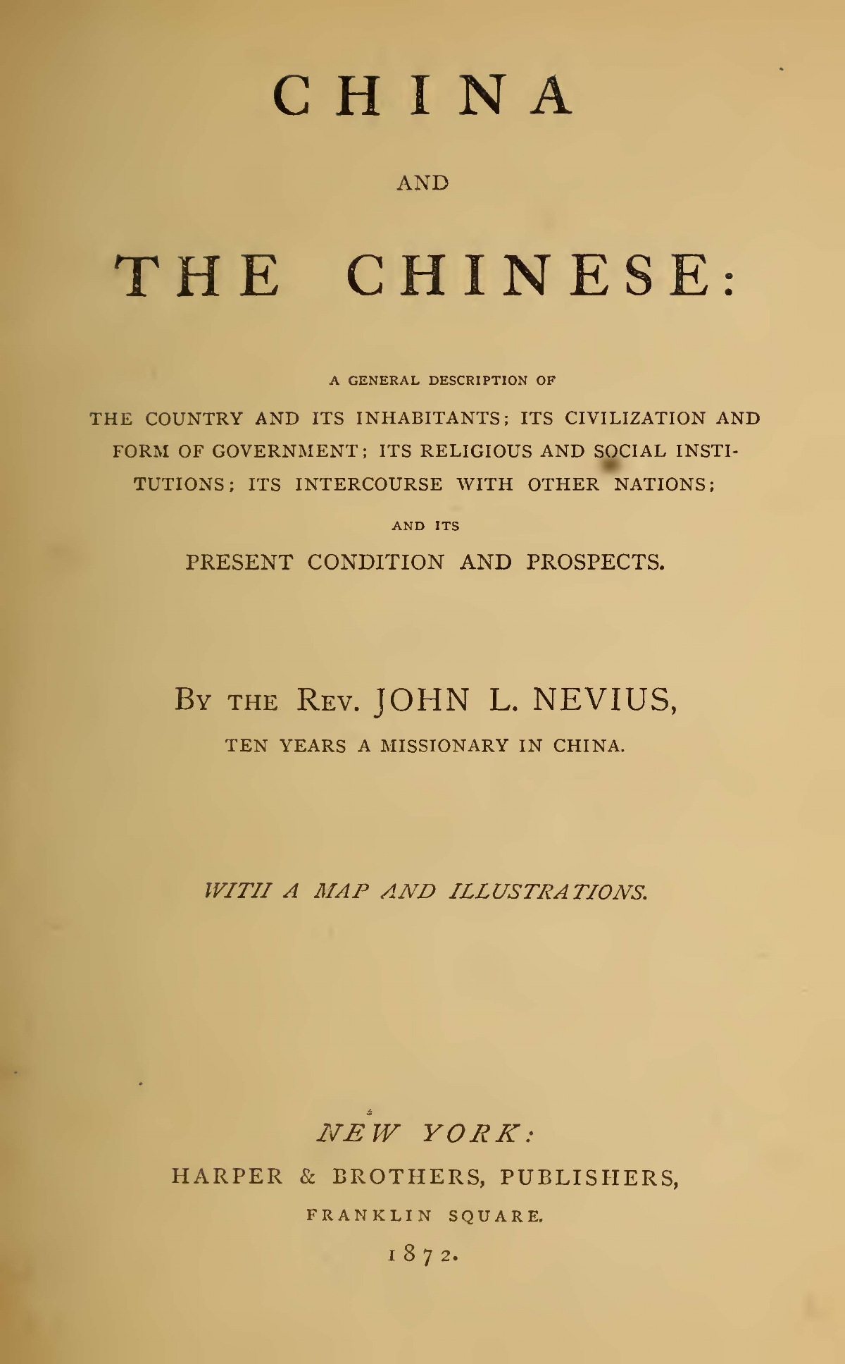 Nevius, John Livingston, China and the Chinese Title Page.jpg