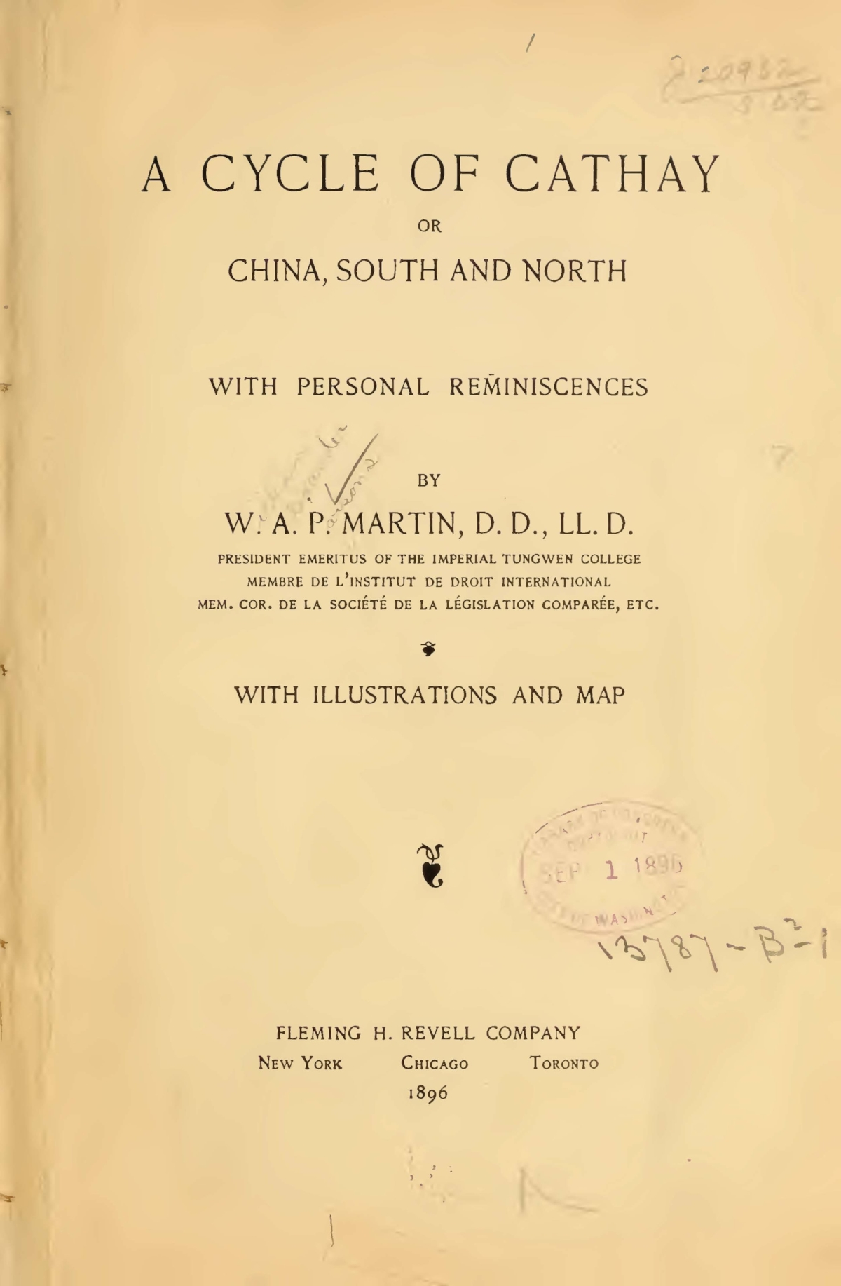 Martin, William Alexander Parsons, A Cycle of Cathay Title Page.jpg