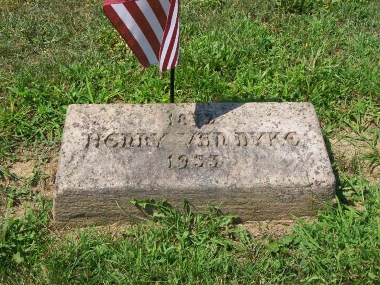 Henry Jackson Van Dyke, Jr. is buried at Princeton Cemetery, Princeton, New Jersey.
