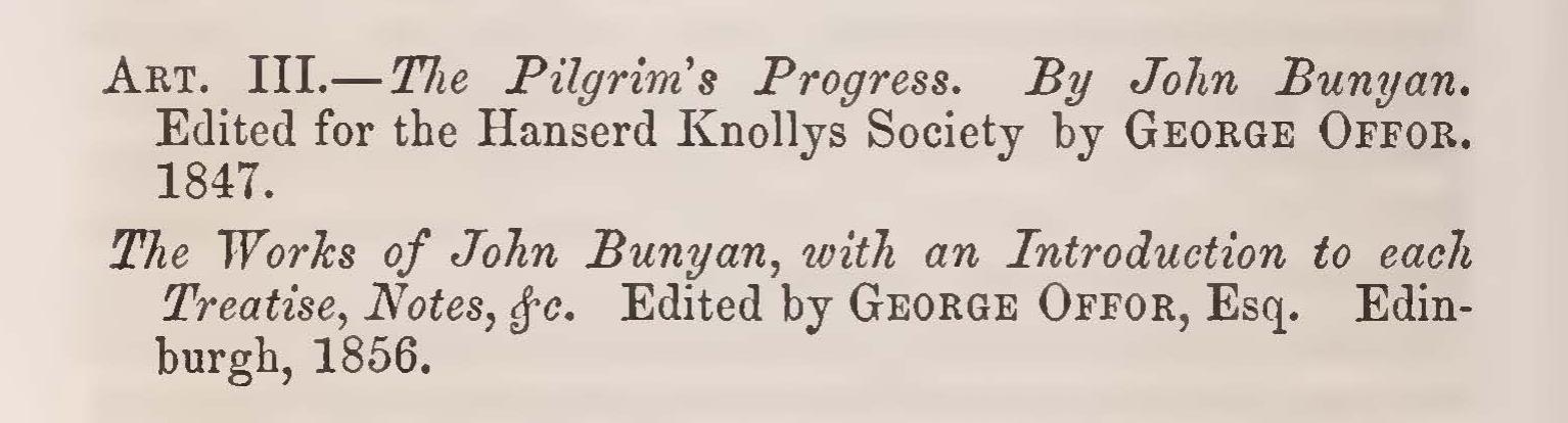 Alexander, Samuel Davies, Review of The Pilgrim's Progress Title Page.jpg
