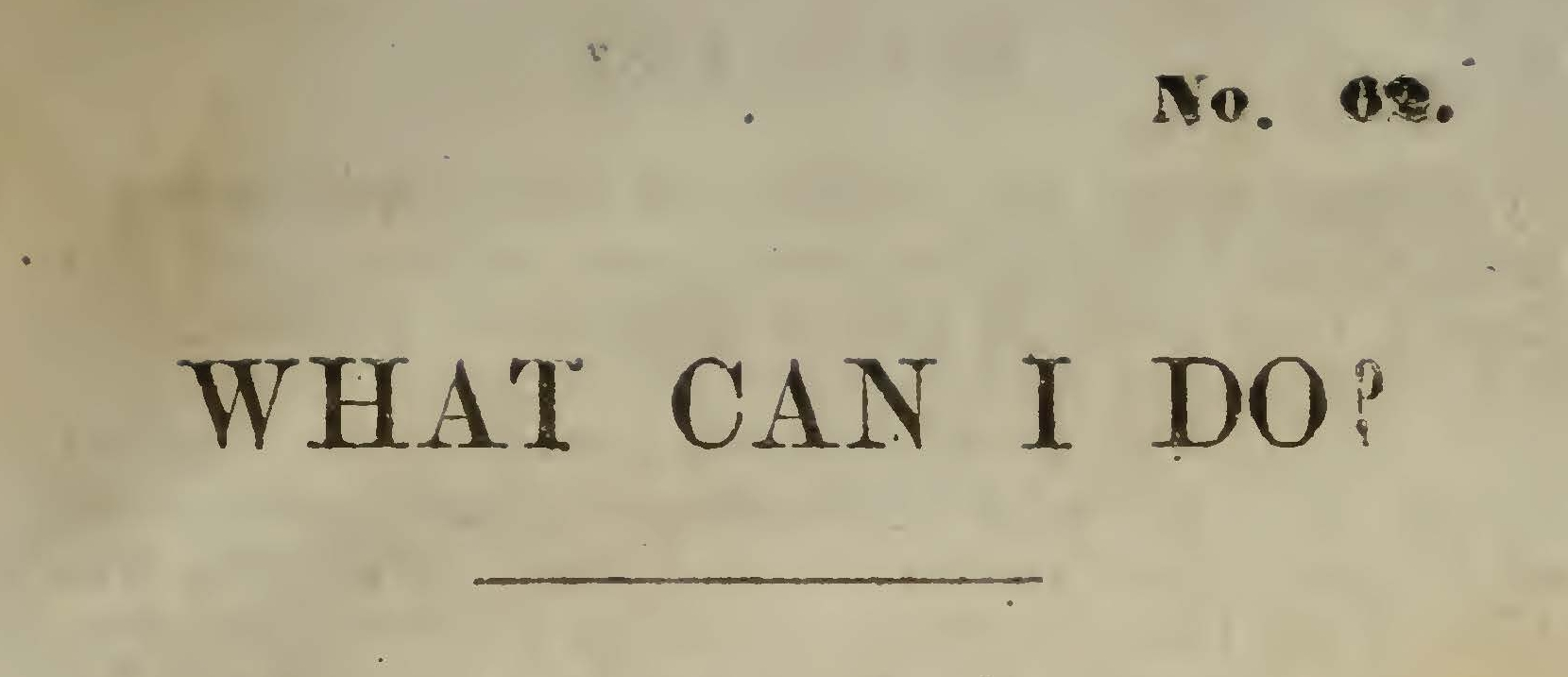 Moore, Thomas Verner, What Can I Do Title Page.jpg