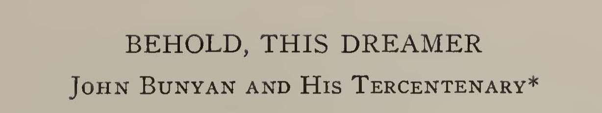 Macartney, Clarence Edward Noble, Behold This Dreamer Title Page.jpg