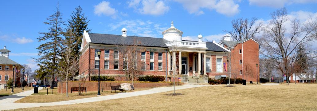 Pictured here is Vail Memorial Hall at Lincoln University, Pennsylvania. Established as Vail Memorial Library in 1898 with funds given by Dr. Vail, the building was expanded in 1954, and then converted into the university's administrative offices in 1972. William Henry Vail is buried at Yellow Frame Church Cemetery, Frelinghuysen Township, New Jersey.