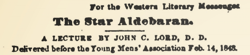 Lord, John Chase, The Star Aldebaran Title Page.jpg