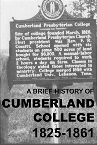 Gore, History of Cumberland College.jpg