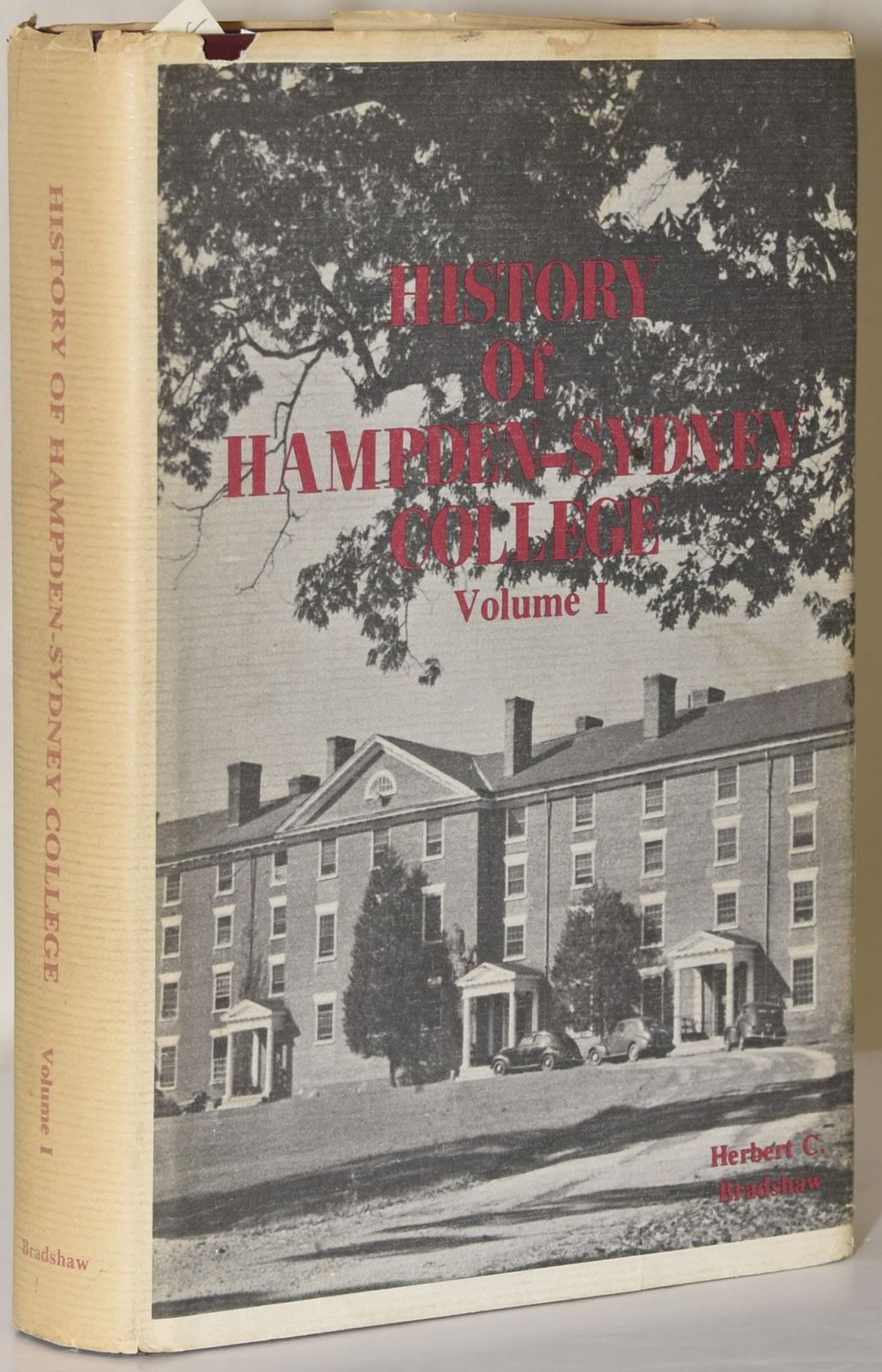 Bradshaw, Herbert Clarence, History of Hampden-Sydney College.jpg