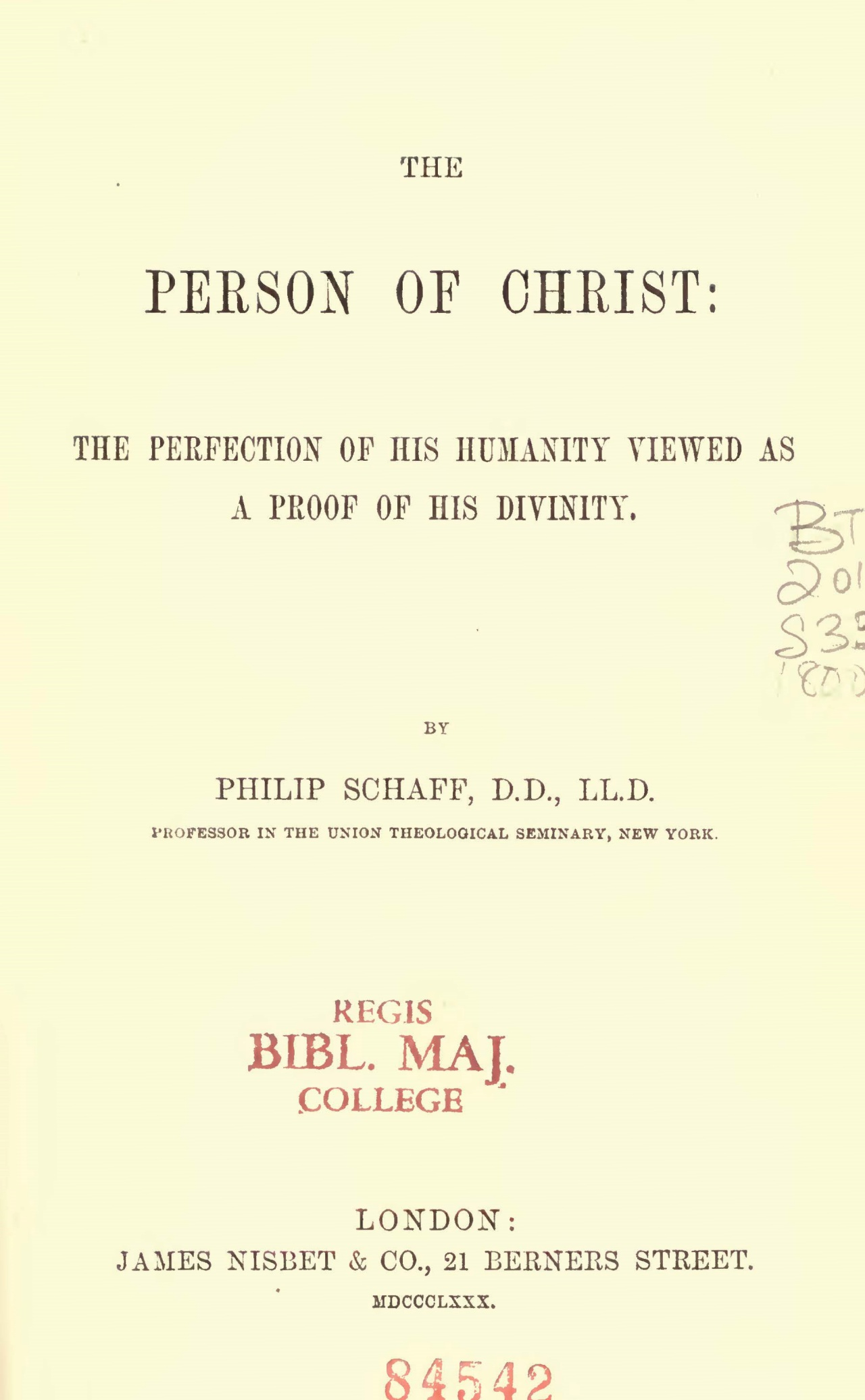 Schaff, Philip, The Person of Christ Title Page.jpg