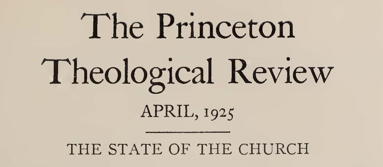 Macartney, Clarence Edward Noble, The State of the Church Title Page.jpg