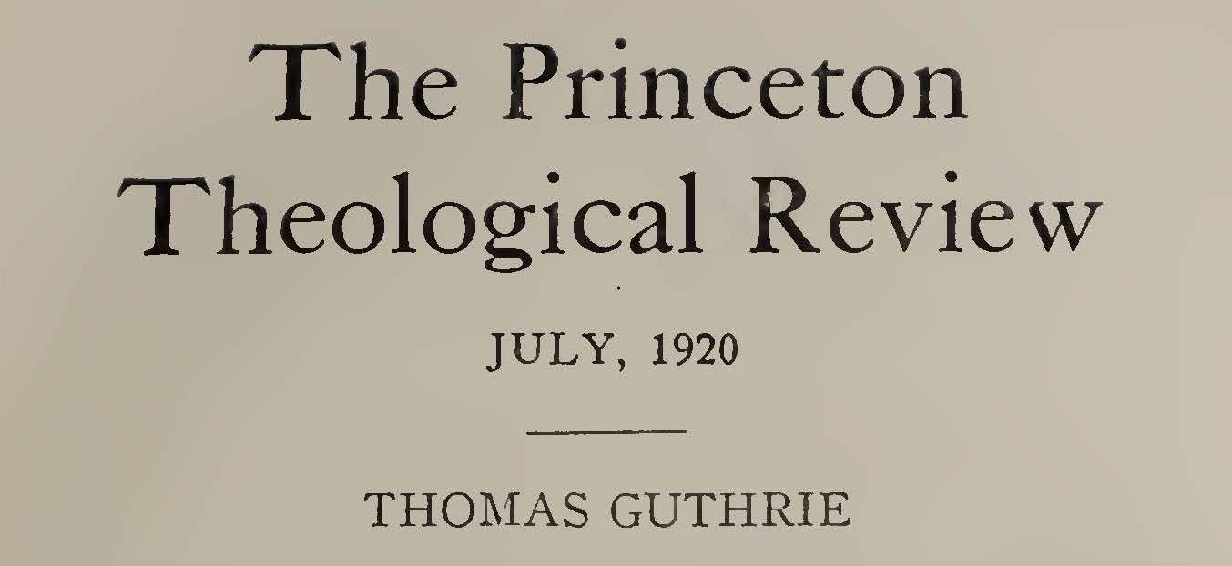 Macartney, Clarence Edward Noble, Thomas Guthrie Title Page.jpg
