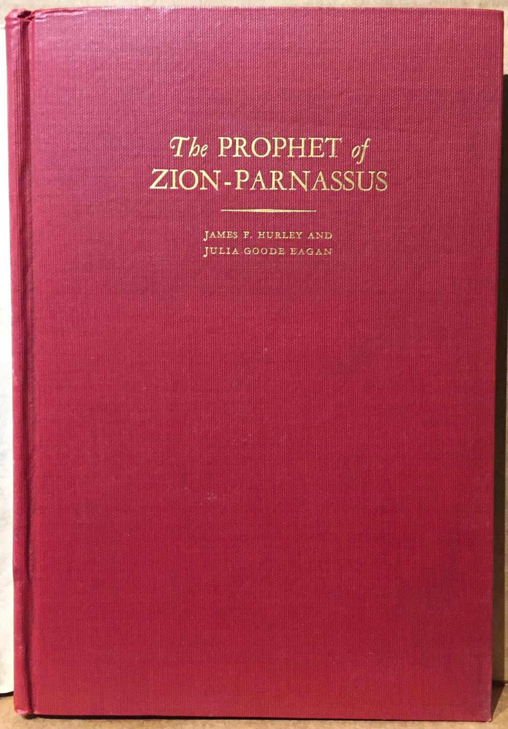 Hurley, James F. and Eagan, Julia, The Prophet of Zion-Parnassus.jpg