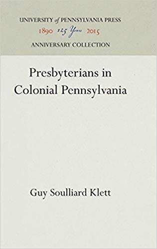 Klett, Colonial Pennsylvania.jpg