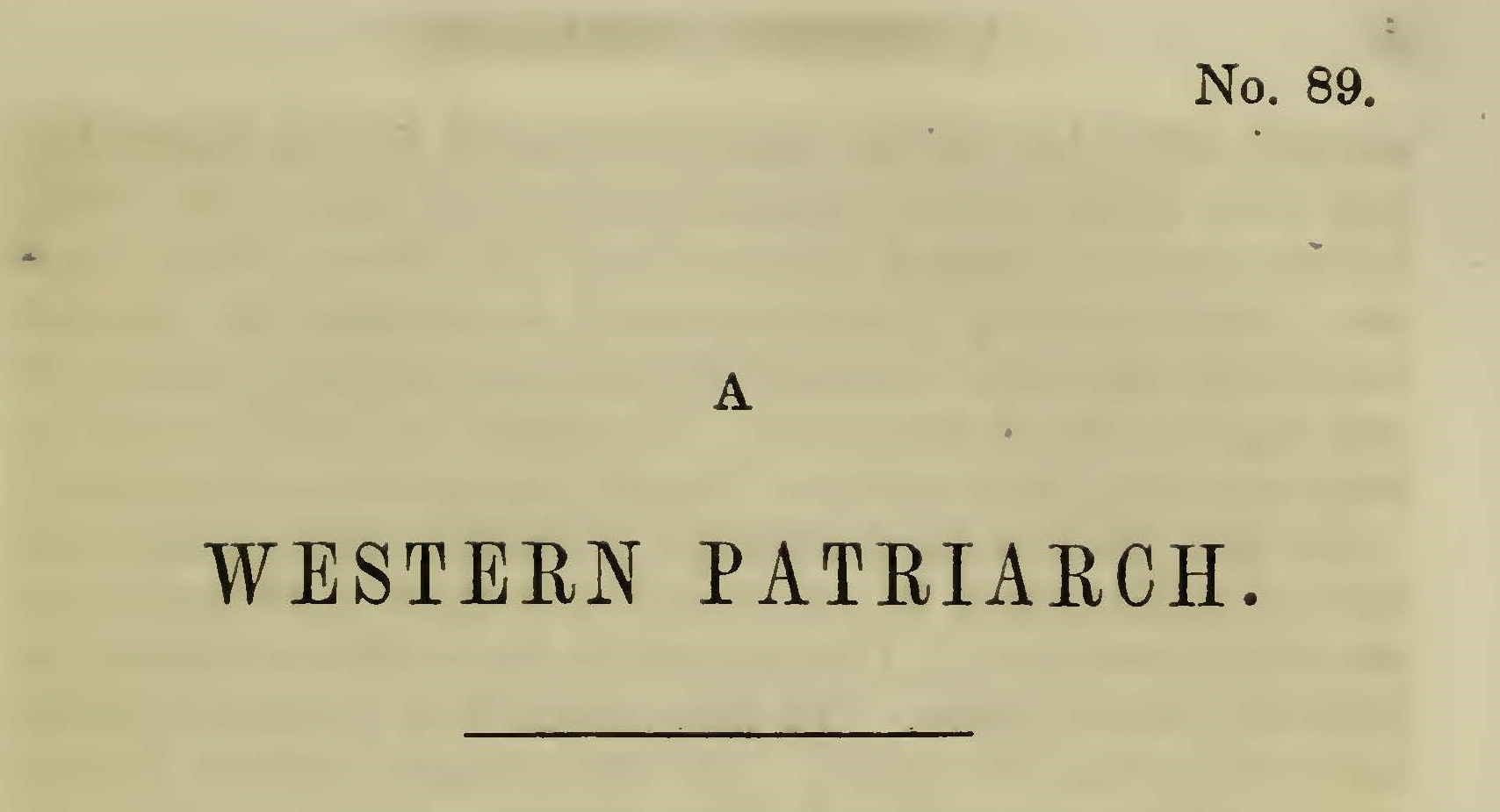 Plumer, William Swan, The Western Patriarch Title Page.jpg