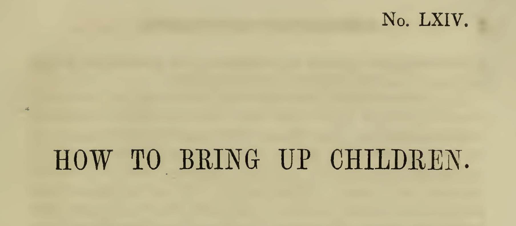 Plumer, William Swan, How to Bring Up Children Title Page.jpg