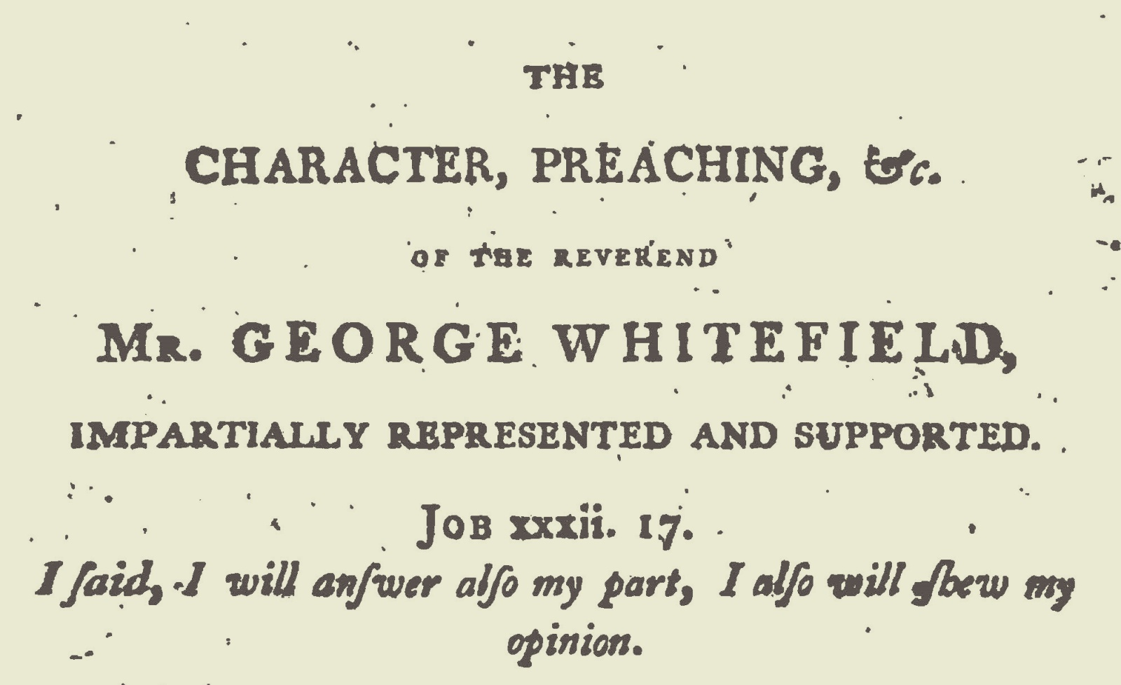 Although in this edition authorship is attributed to a Joseph Smith, the author was Josiah Smith, Sr.