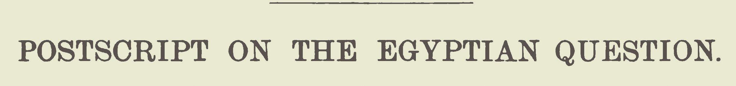 Lansing, Gulian, Postscript on the Egyptian Question Title Page.jpg