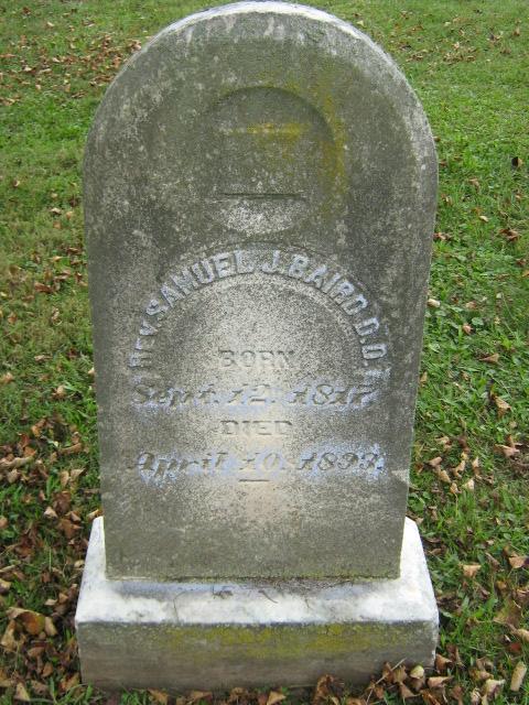 Samuel John Baird is buried at Crown Hill Cemetery, Clifton Forge, Virginia.