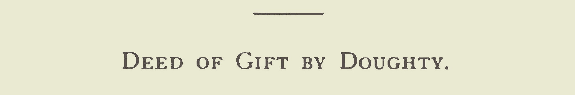 Doughty, Francis, Deed of Gift Title Page.jpg