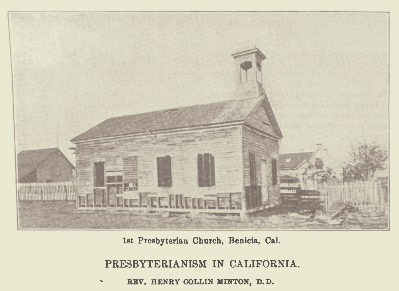 Minton, Henry Collin, Presbyterianism in California Title Page.jpg