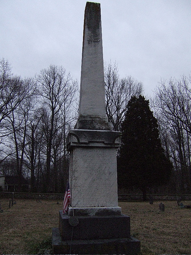 Francis Alison is buried at New London Presbyterian Church Cemetery, New London, Pennsylvania.