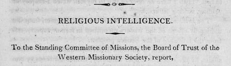 Rice, John Holt, Religious Intelligence Title Page.jpg