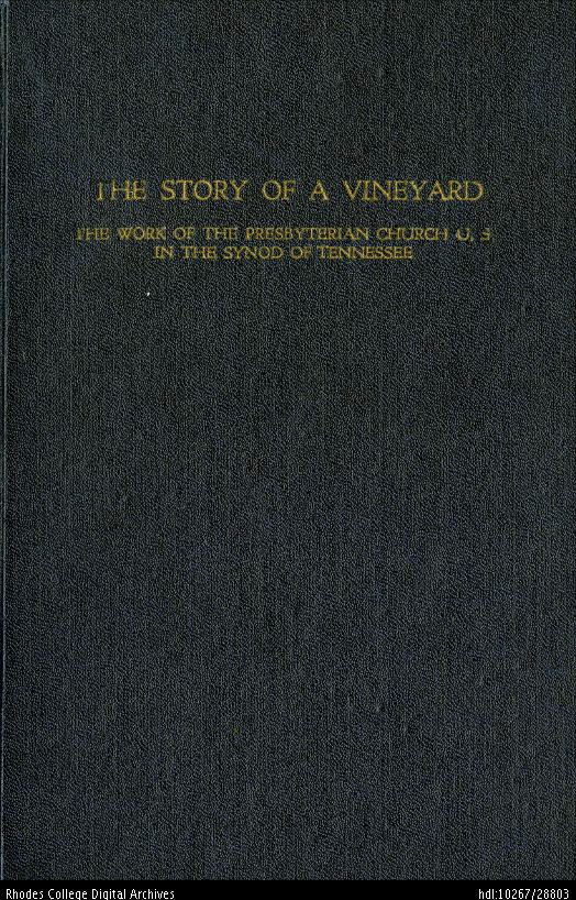 Diehl, Charles Edward, The Story of a Vineyard.jpg