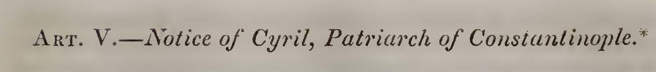 Alexander, Joseph Addison, Notice of Cyril Title Page.jpg