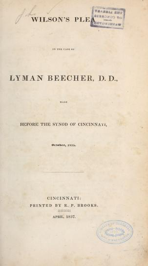 Wilson, Joshua Lacy - Plea in Case of Lyman Beecher.jpg