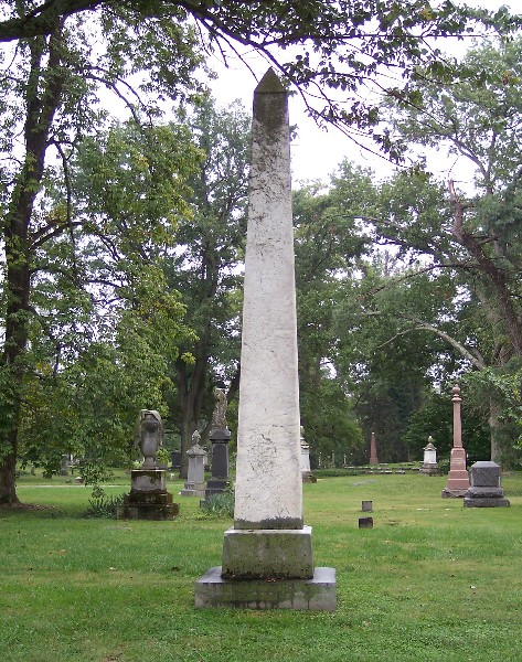 Joshua Lacy Wilson is buried at Spring Grove Cemetery, Cincinnati, Ohio.