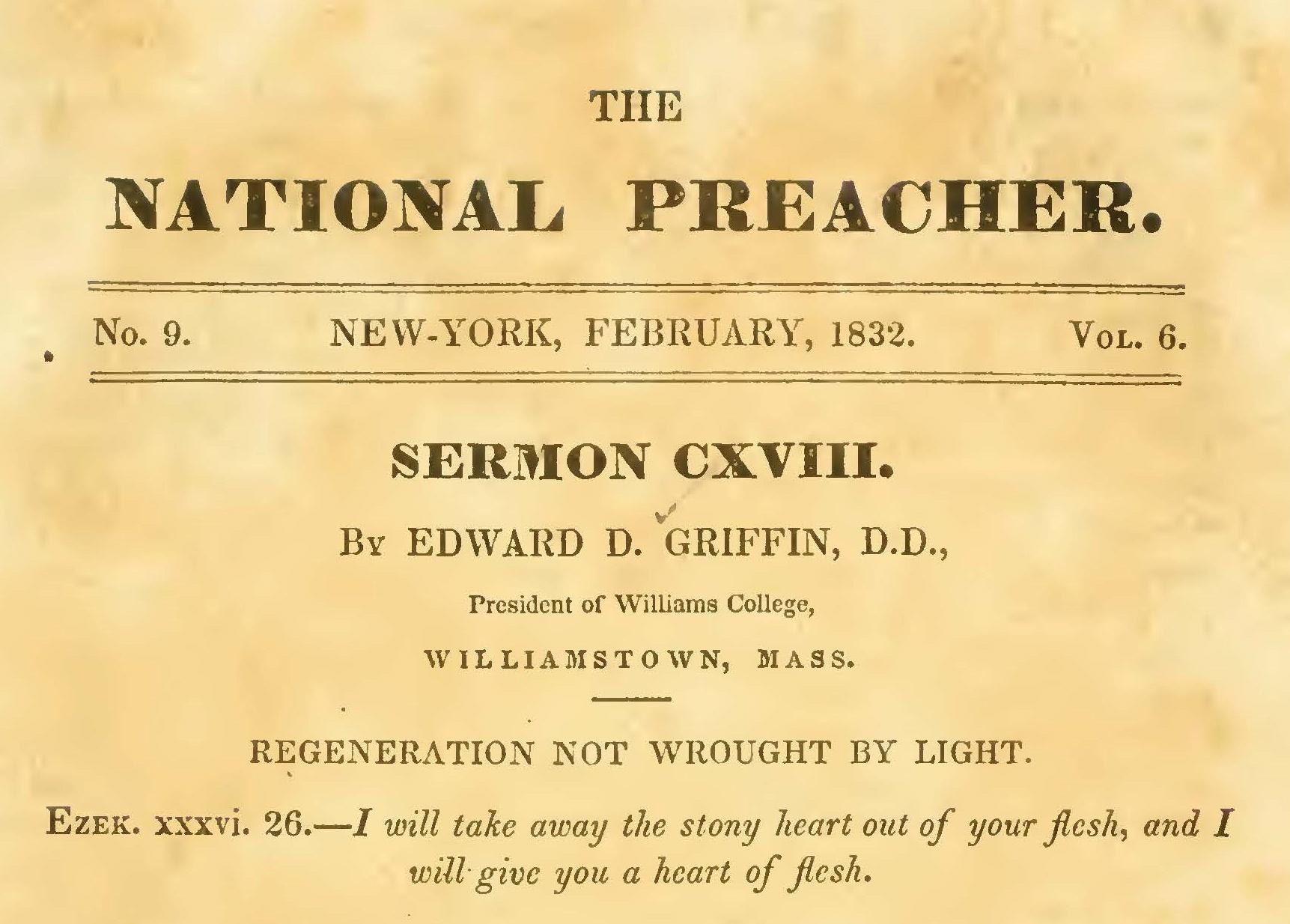 Griffin, Edward Dorr, Regeneration Not Wrought by Light Title Page.jpg