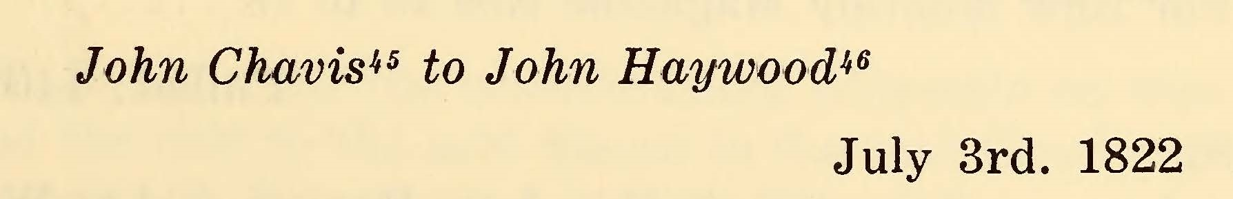 Chavis, John, July 3, 1822 Letter to John Haywood Title Page.jpg