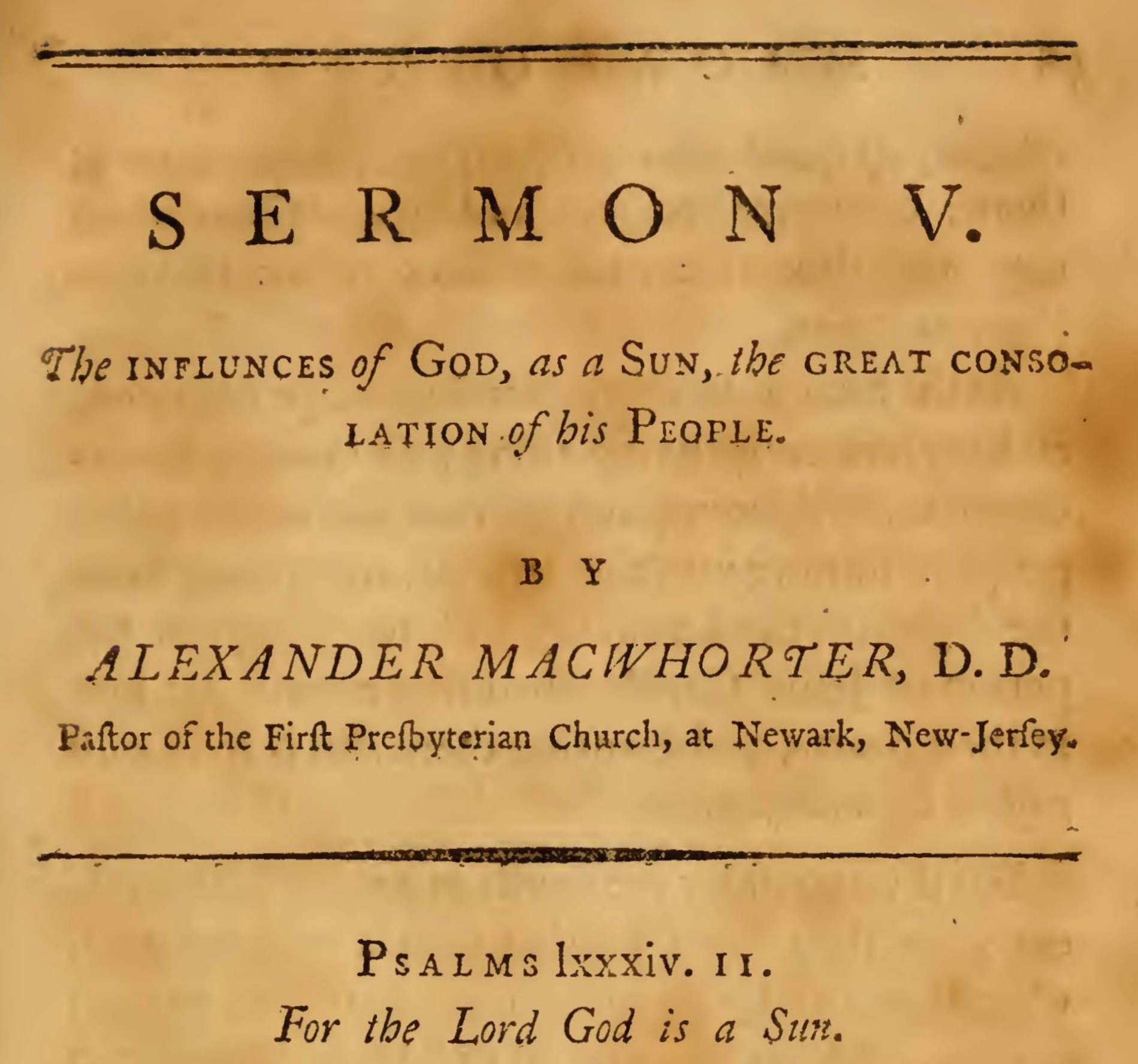 MacWhorter, Alexander, The Influences of God as a Sun Title Page.jpg