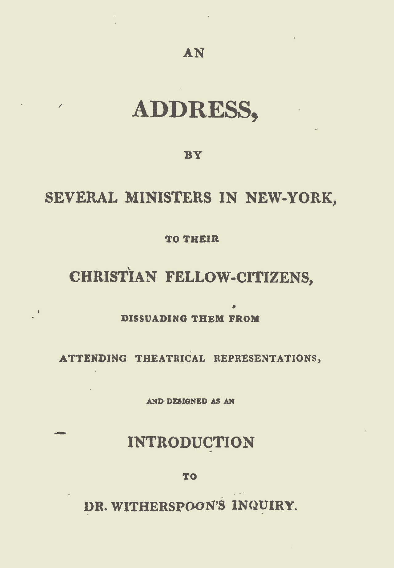 McLeod, Alexander, An Address on Theatrical Representations Title Page.jpg