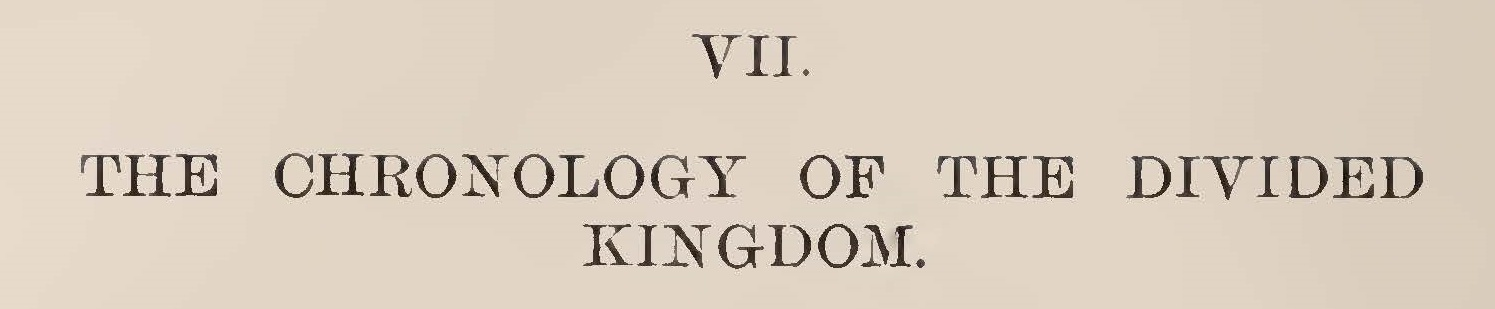 Davis, John D., The Chronology of the Divided Kingdom Title Page.jpg