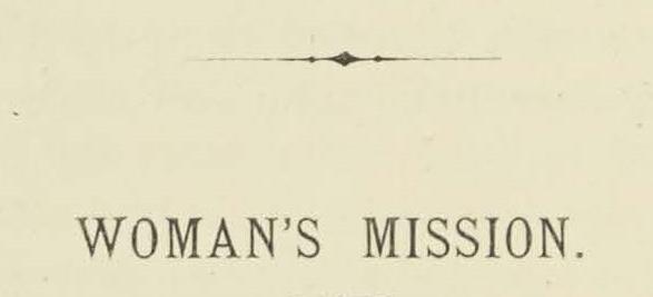 Warfield, Benjamin Breckinridge, Woman's Mission Title Page.jpg