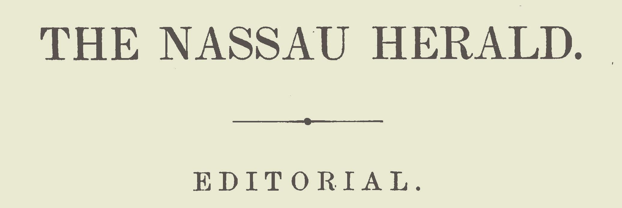 Warfield, Benjamin Breckinridge, 1871 Editorial Title Page.jpg