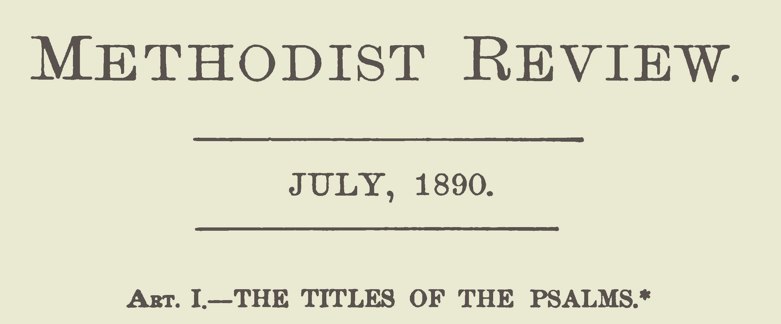 Green, William Henry, The Titles of the Psalms Title Page.jpg