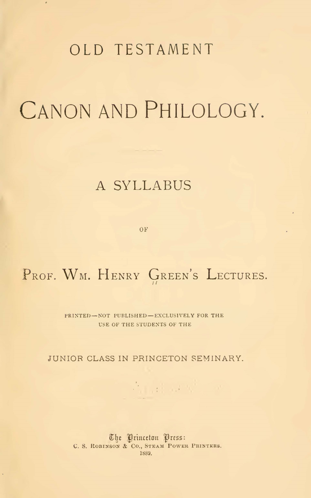 Green, William Henry, Old Testament Canon and Philology Title Page.jpg