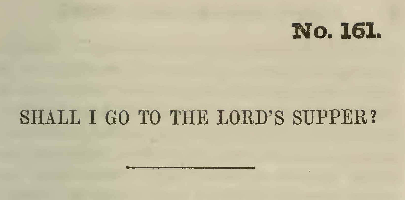 Greenleaf, Jonathan, Shall I Go to the Lord's Supper Title Page.jpg