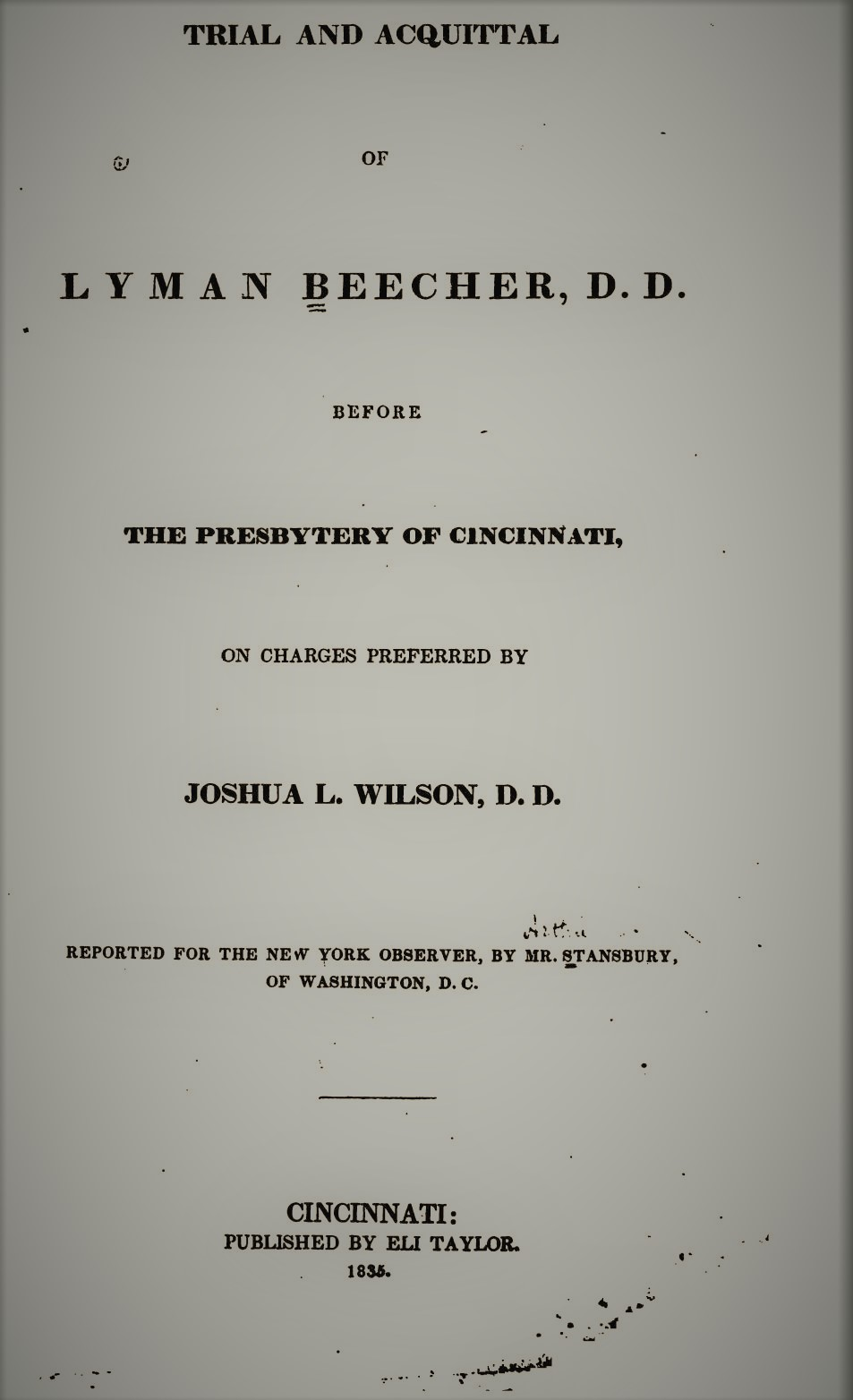 Wilson, Joshua Lacy - Trial and Acquittal of Lyman Beecher.jpg