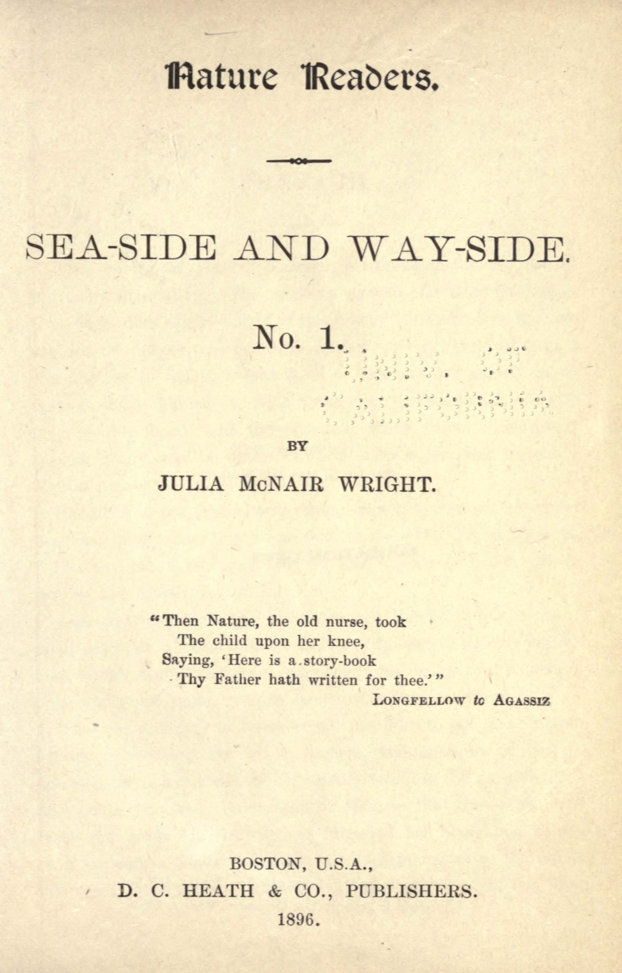 Wright, Julia McNair, Sea-Side and Way-Side No. 1 Title Page.jpg