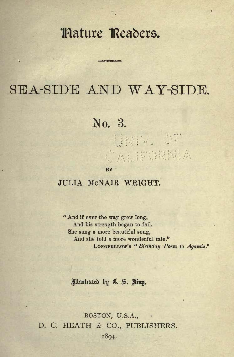 Wright, Julia McNair, Sea-Side and Way-Side No. 3 Title Page.jpg