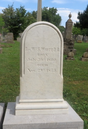 William Spotswood White is buried at Stonewall Jackson Memorial Cemetery, Lexington,Virginia.