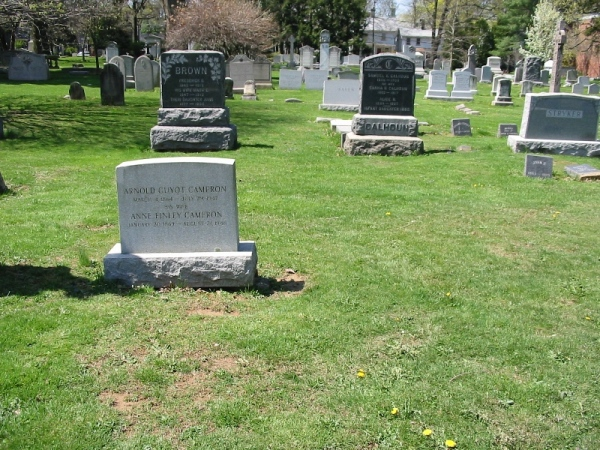 Henry Clay Cameron is buried at Princeton Cemetery, Princeton, New Jersey.