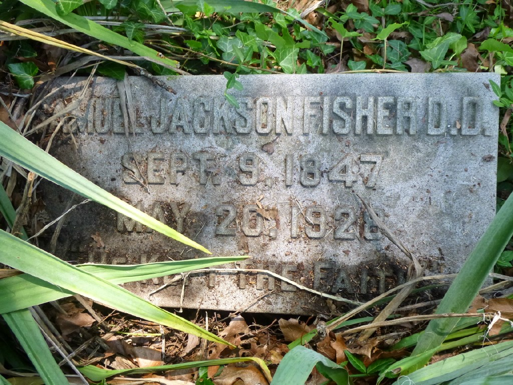 Samuel Jackson Fisher is buried at Spring Grove Cemetery, Cincinnati, Ohio.