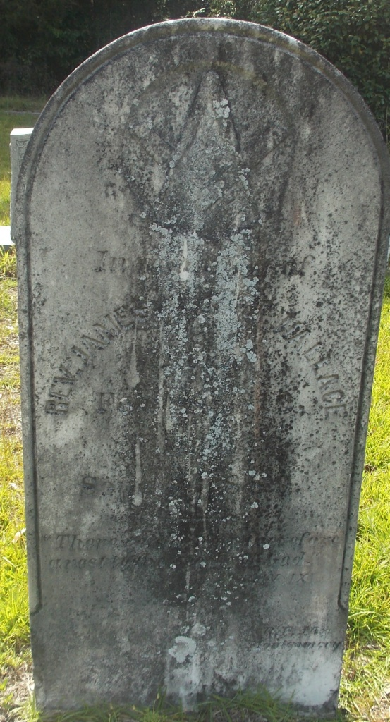 James Albert Wallace is buried at Bethel Presbyterian Church Cemetery, Alabama.
