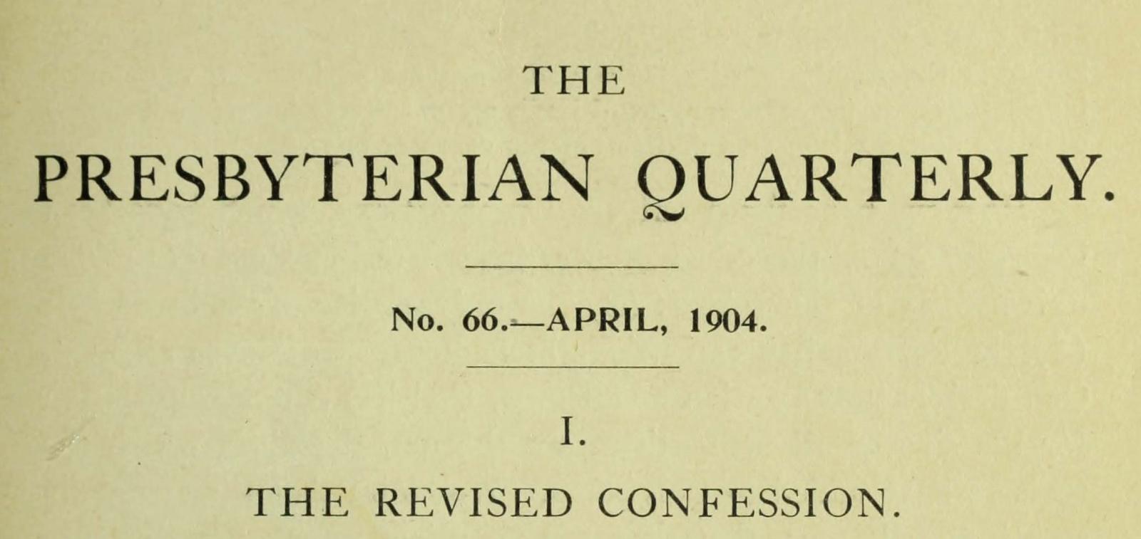 Webb, Robert Alexander, The Revised Confession Title Page.jpg